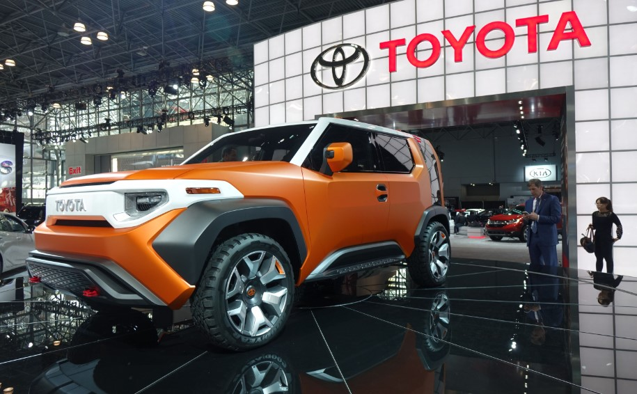 2021 Toyota FT-4X at New York Auto Show