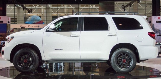 2021 Toyota Sequoia TRD Pro version