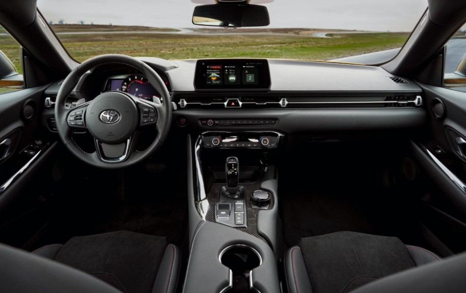 2021 Toyota Supra has more features inside