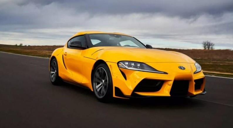2021 Toyota Supra test drive with new engine system
