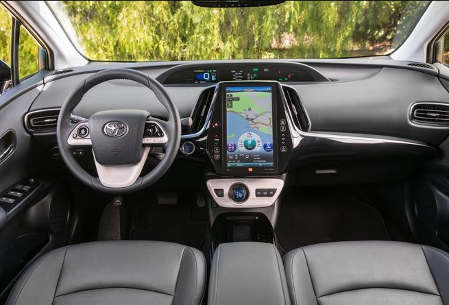 The Next 2022 Toyota Prius with new interior concept