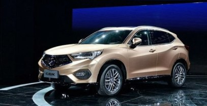 2021 Acura CDX Side View