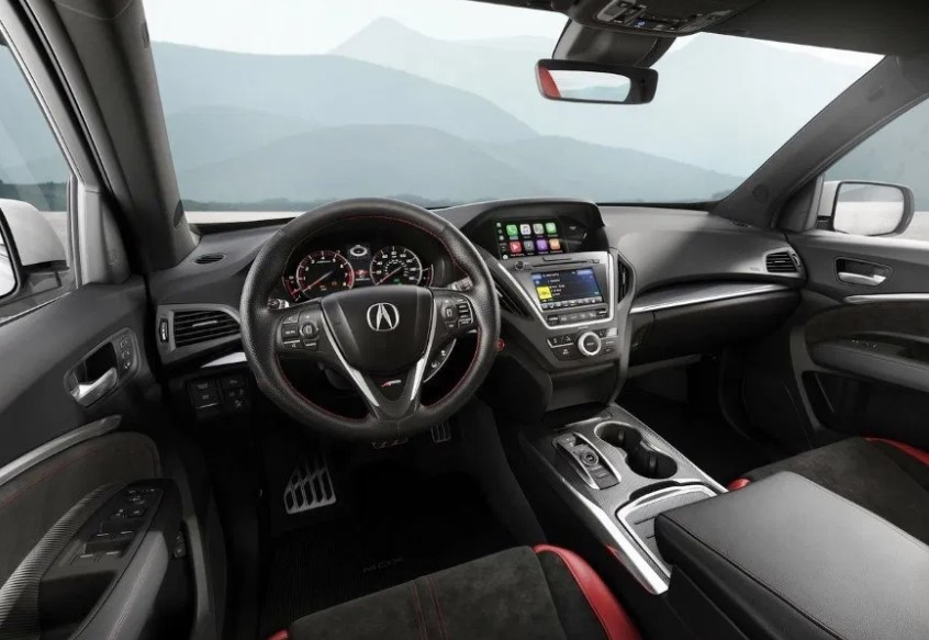 2021 Acura MDX Dashboard and Infotainment System