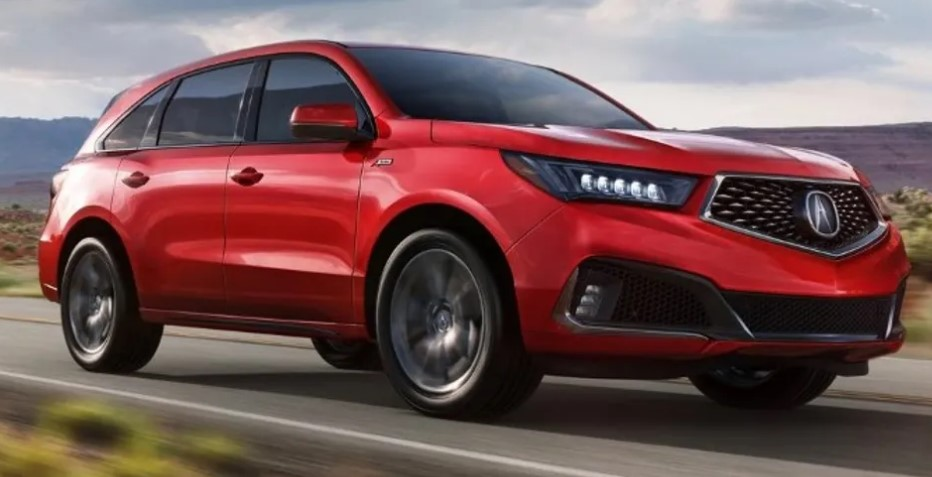 2021 Acura MDX Powered with new engine system
