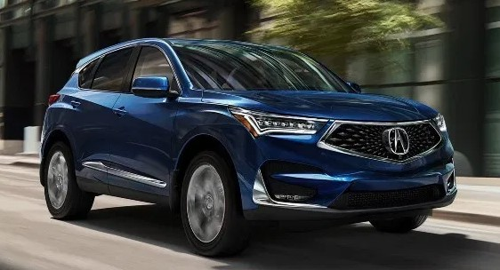 2021 Acura RDX Powered with new engine system