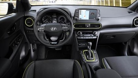 2021 Hyundai Kona has more features on Dashboard