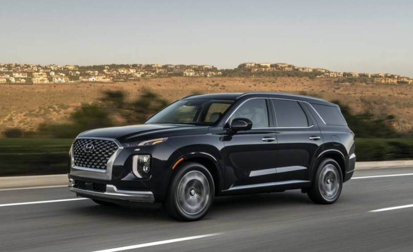 2021 Hyundai Palisade Powered with New Engine System