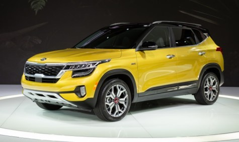 2021 Kia Seltos with new exterior design