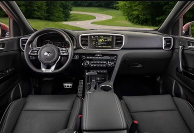 2021 Kia Sportage Dashboard and Infotainment System
