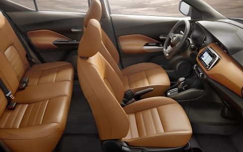 2021 Nissan Kick with new interior design