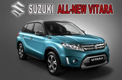 2021 Suzuki Grand Vitara With New Exterior Design