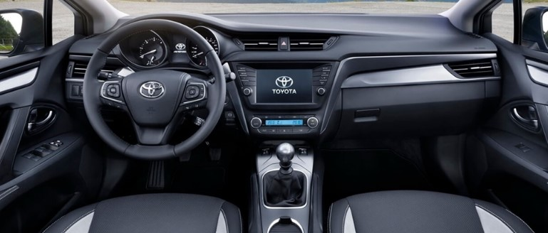 2021 Toyota Avensis has more security features inside