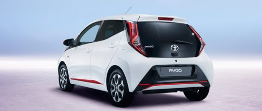 2021 Toyota Aygo with new engine system