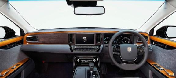 2021 Toyota Century has more control features on Dashboard