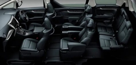 2021 Toyota Estima with new interior design