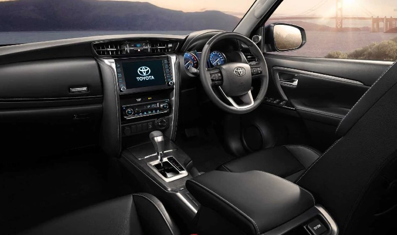 2021 Toyota Fortuner has more control features than the previous one