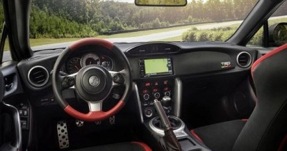 2021 Toyota GT-86 Convertible with new interior design