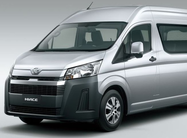2021 Toyota Hiace front view