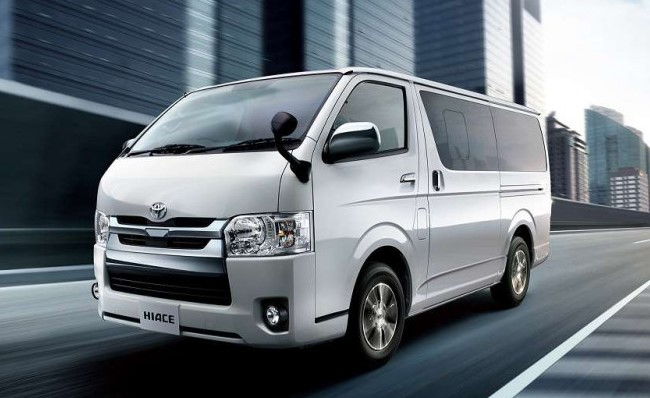 2021 Toyota Hiace powered with new engine system