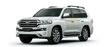 2021 Toyota Land Cruiser 300 with new exterior design