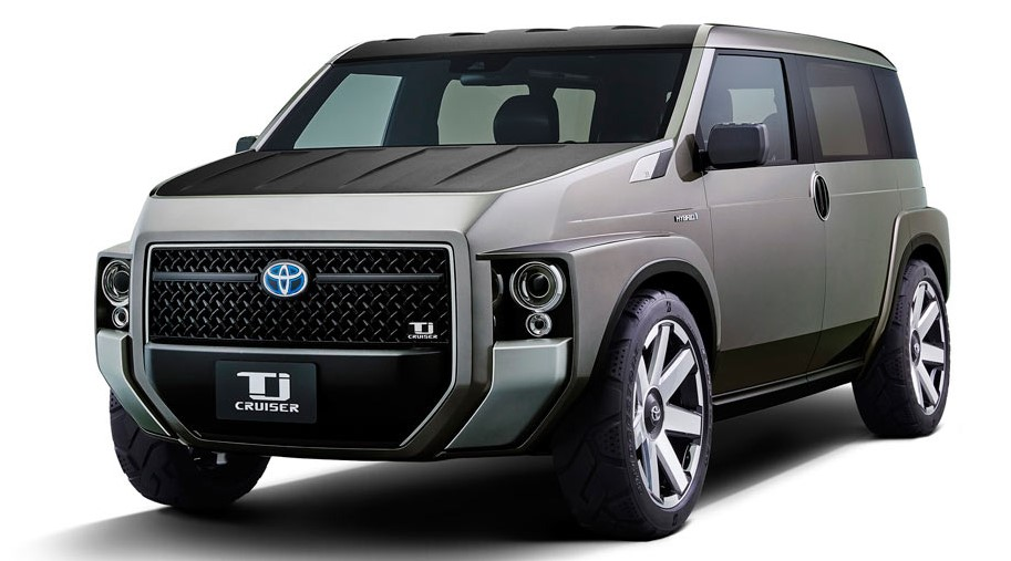2021 Toyota TJ Cruiser with new exterior design