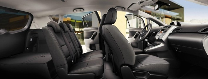 2021 Toyota Verso with new interior design