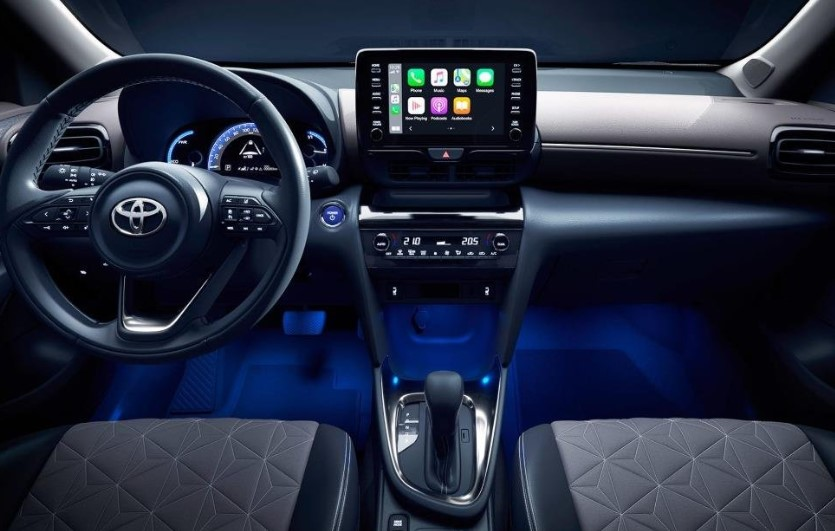 2021 Toyota Yaris has more control features on Dashboard