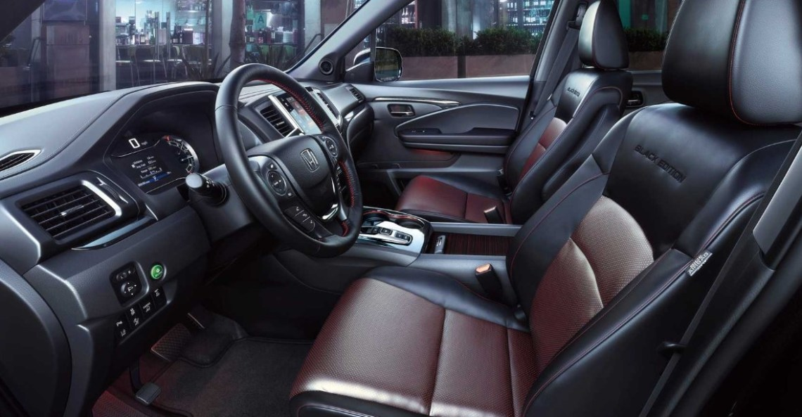 2022 Honda Ridgeline Interior and Cabin Design