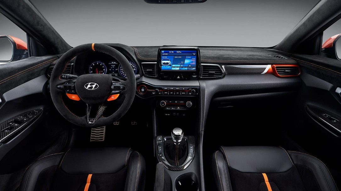 The New 2021 Hyundai Veloster Dashboard and Features