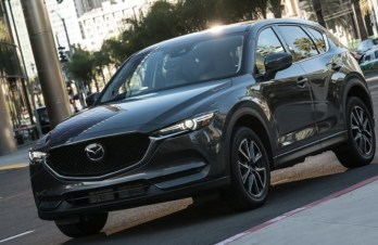2021 Mazda CX-5 with new exterior design
