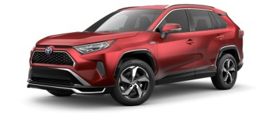 2021 Toyota RAV4 Prime with new exterior design