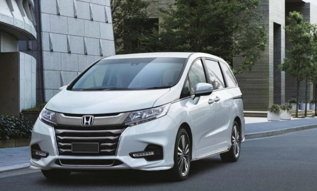 2022 Honda Odyssey with new concept design