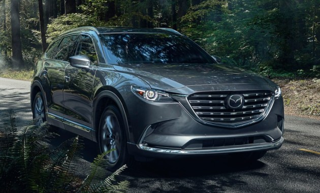 2022 Mazda CX-9 Powered with new engine