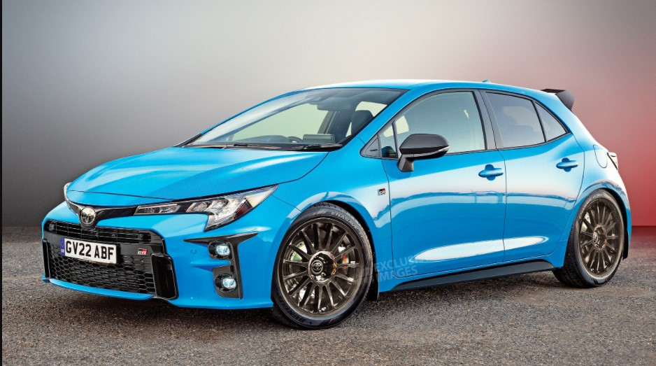 2022 Toyota GR Corolla with new exterior style