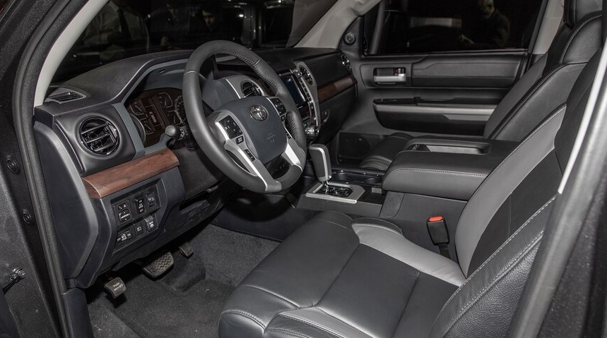 2022 Toyota Tundra with new cabin design