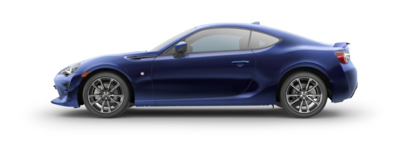 2020 Toyota 86 with new exterior
