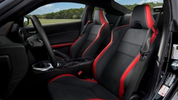 2020 Toyota 86 with new interior