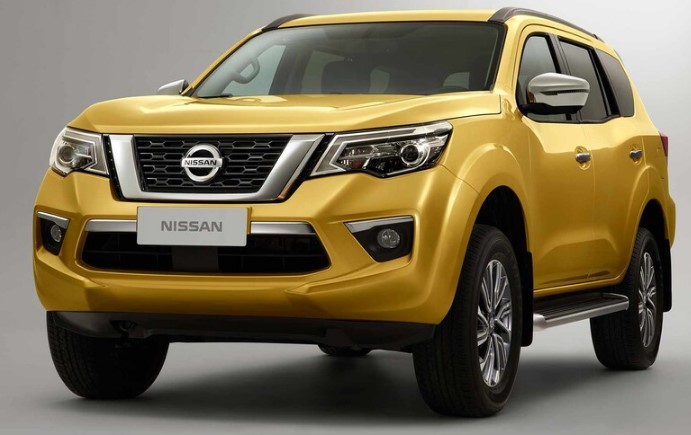2021 Nissan Xterra with new exterior