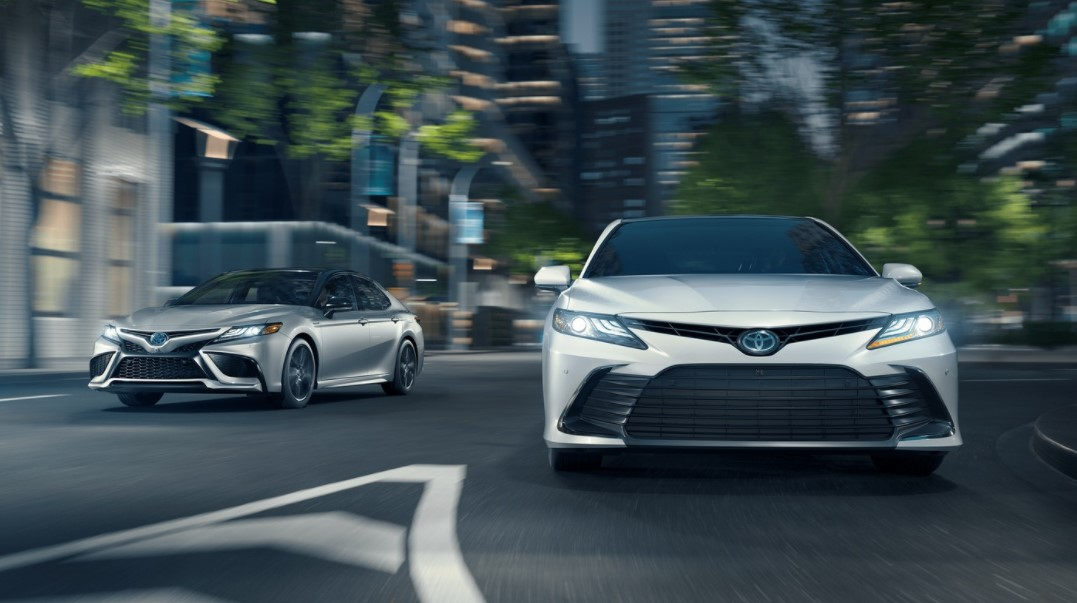 2021 Toyota Camry has cheaper price
