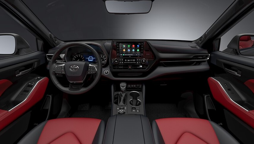 2021 Toyota Highlander XSE with new interior design