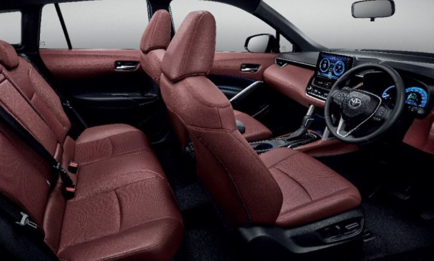 2022 Corolla Cross new interior style design