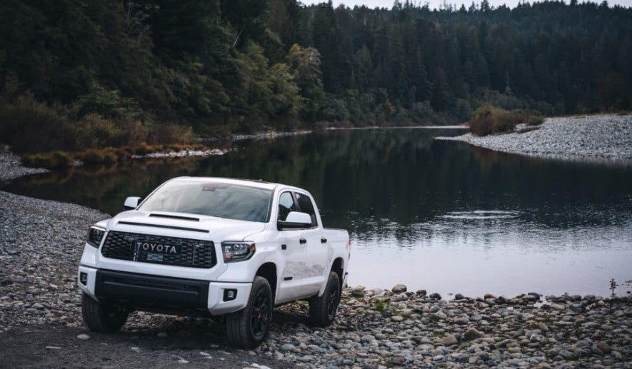 2022 Toyota Tundra with new features