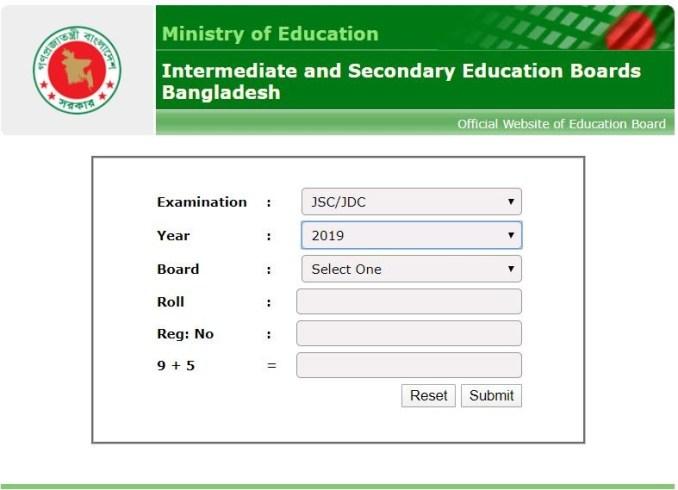 www.educationboardresults.gov.bd JSC Education Board Official Rejalt 2019 Website.JPG