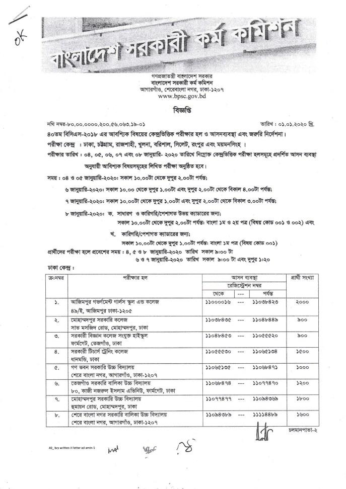 40th BCS Seat Plan (2)