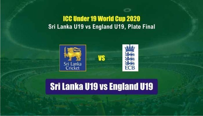 Watch Srilanka vs England U19 Live Match