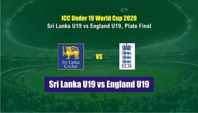 Watch Srilanka vs England U19 Live Match