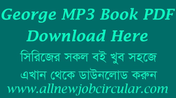 George MP3 Book PDF Download