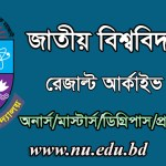 www.nu.edu.bd result