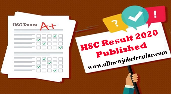 hsc result 2021 published date