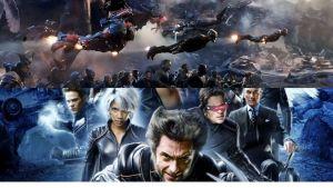 The Avengers vs X-Men